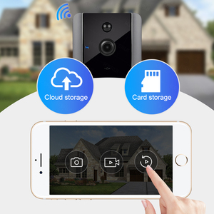 Image 2 - FUERS 720P WIFI Doorbell Camera Smart Wireless Video Intercom Camera Doorbell IP Doorbell Camera Two Way Audio Cloud Storage