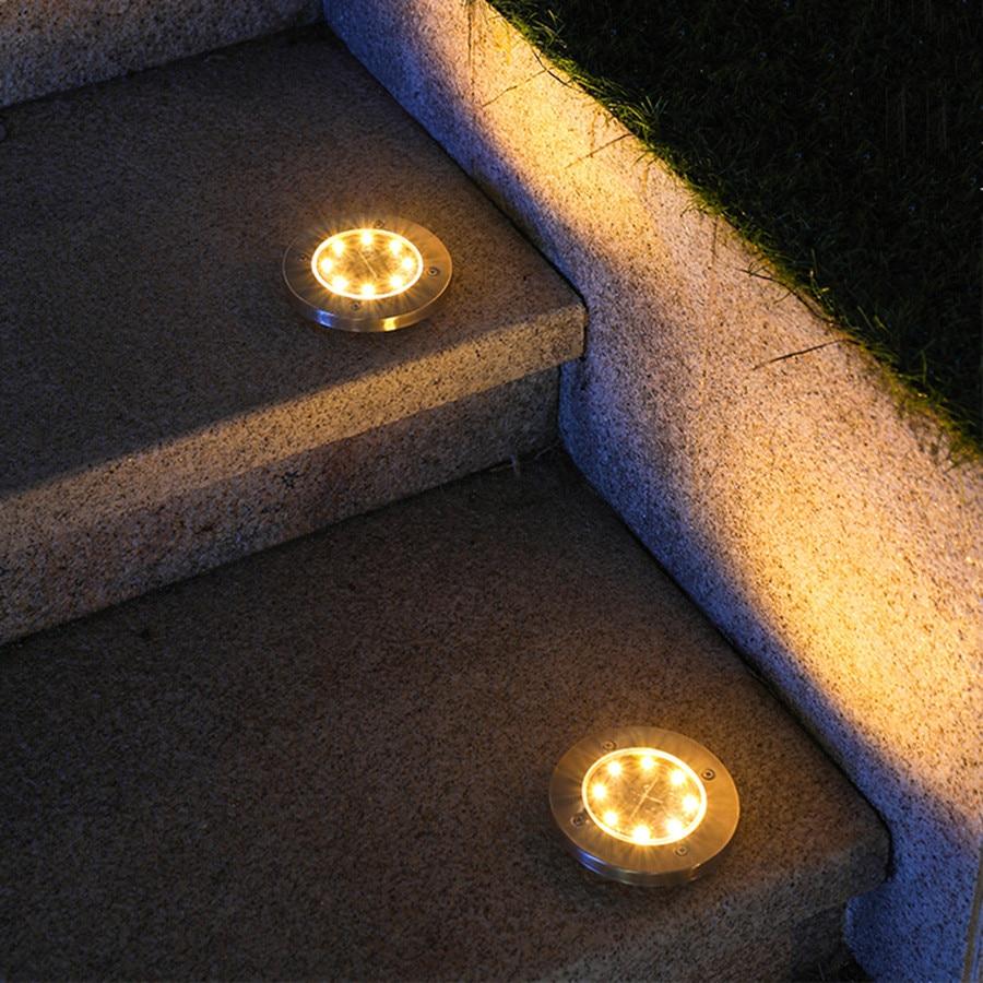 Jardim Caminho da Em-Terra Lâmpada Solar Passo