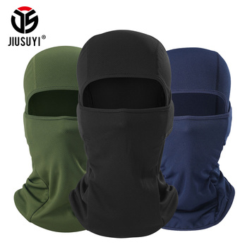 balaclava windproof full face neck guard headgear hats beanies for men women riding masks Multicam Camouflage Balaclava Cap Windproof Breathable Tactical Army Airsoft Paintball Full Face Cover Hats Beanies Men Women