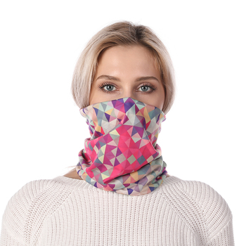 Fashion Neck Mask Scarf Plaid High Elasticity Neckerchief Windproof Anti Dust Hiking Headband Foulard Femme Riding Sweat - discount item  66% OFF Scarves & Wraps