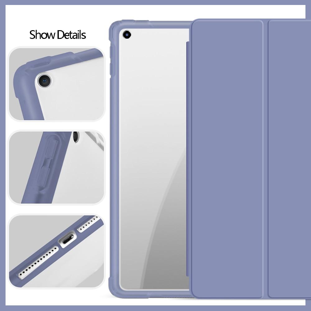 With Pencil Holder For iPad AIR 3 10.5 Pro 11 2020 Air 4 10.9 2018 9.7 6th 7th 8th Generation Case 10.2 2019 Mini 5 Funda Capa-5