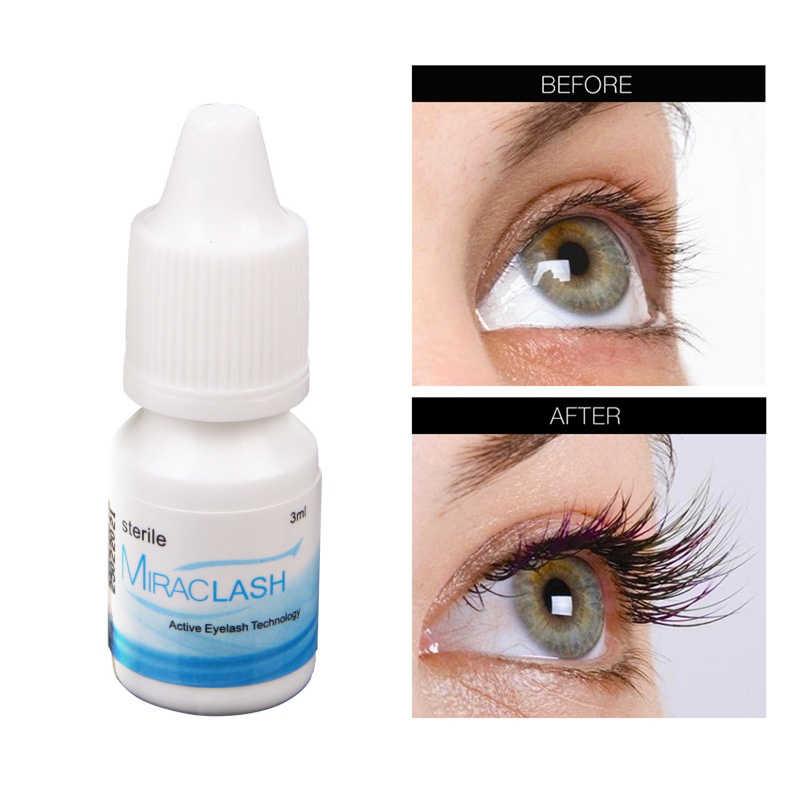 Eyelash Growth EnhancerธรรมชาติEyelashes Longer FullerหนาTreatment Eye Lashes Serumมาสคาร่ายาวEyebrow Growth