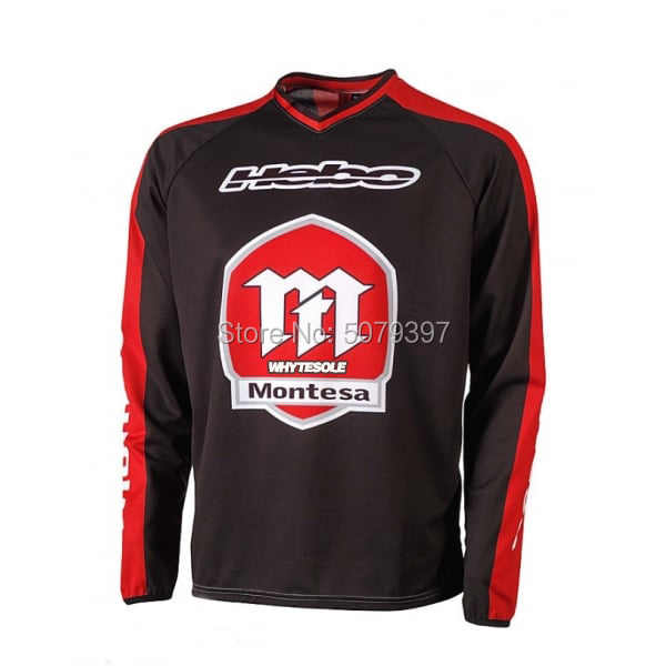 2019 ขี่จักรยาน Moto Moto CROSS MTB JERSEY MX Maillot ciclismo hombre DH downhill JERSEY Off Road Mountain เสื้อ