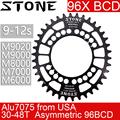 Камень кольцо 96 BCD Овальный для Shimano M6000 M7000 M8000 M9000 32t 34 36 40 42 44 48T велосипед зубчатая пластина 96bcd