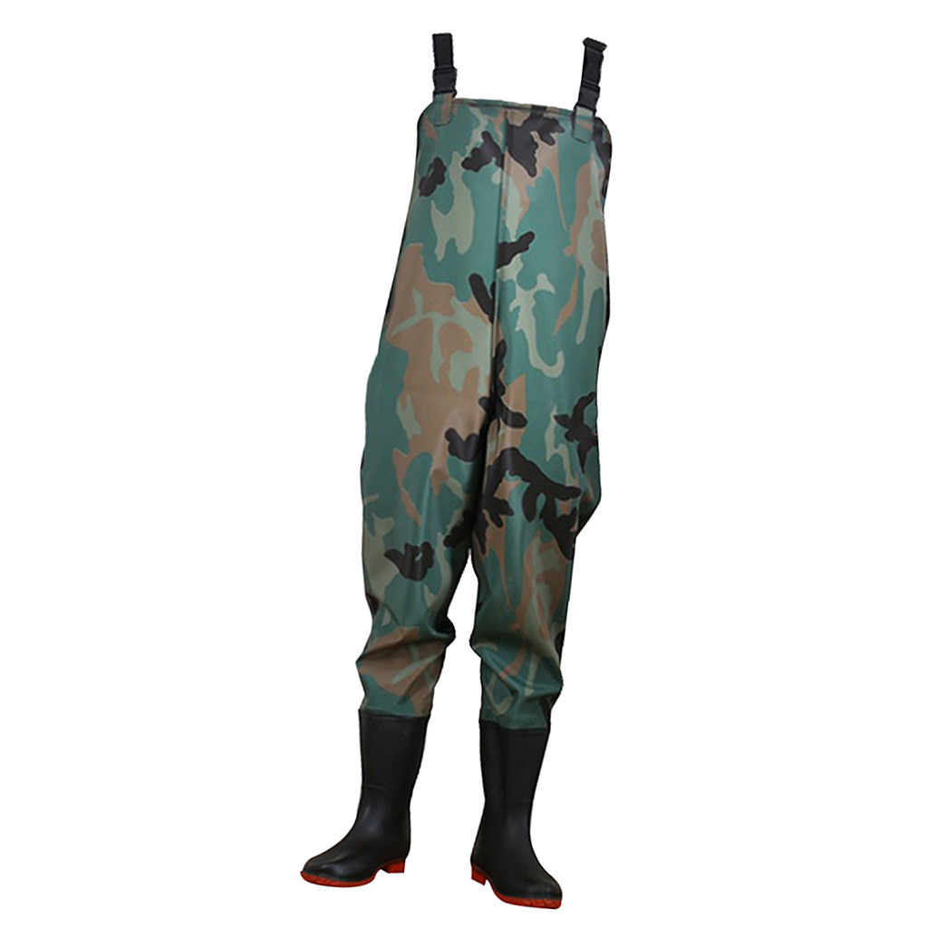 Fishing Wading Pants Boots Hunting Waterproof Chest Waders Clothes Overalls