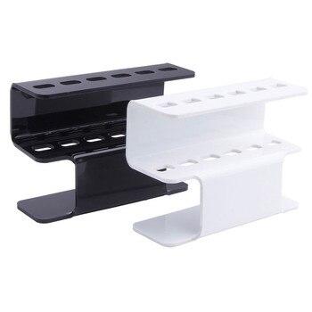 1 Set Acrylic Eyelash Tweezer Storage Holder 6Pcs Durable Convenient Tweezers Stand Shelf Holder Eyelashes extension Makeup Tool
