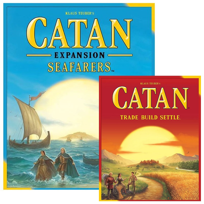 NEW CATAN Ocean SEAFARERS Core Game Board Game Table Game Expansion Of Family English Version