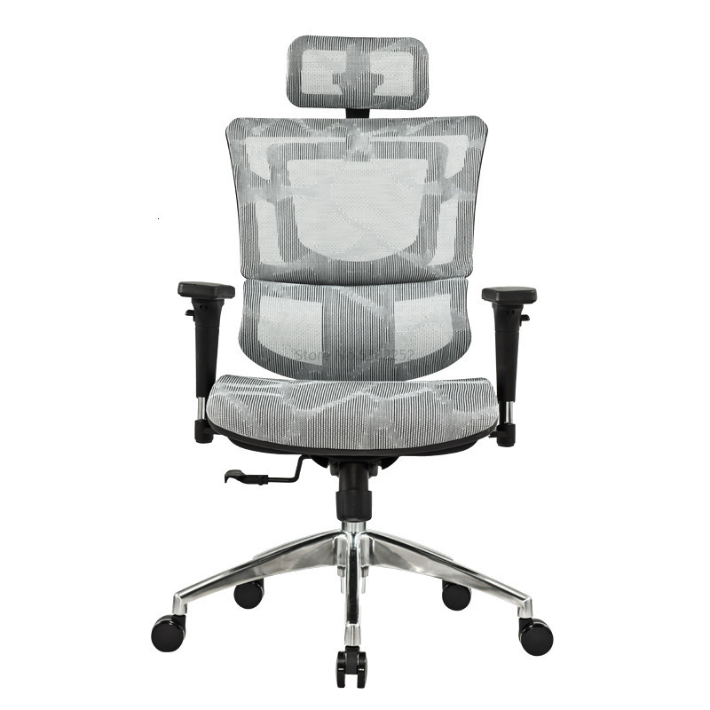 Ergonomic Chair Computer Chair Home Electric Competitive Chair Waist Guard Ridge Office Chair Back Net Chair