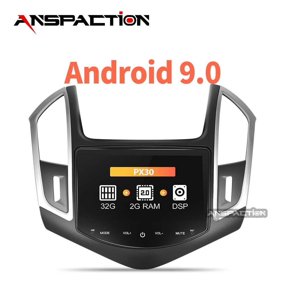 32G Android 9.0 Auto DVD Voor Cruze 2013 2014 2015 Auto Radio FM PC Stereo GPS Navigatie Audio Video systeem Gratis Backup Camera