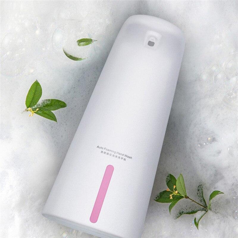 250 мл автоматический жидкость мыло дозатор умный датчик пена мыло дозатор бесконтактный ручной стиральная машина мыло дозатор для кухни ванной комнаты