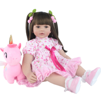 60cm Silicone Reborn Babies Doll Toys For