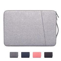 Fashion Laptop Sleeve Notebook Case 13.3 14 15 15.6 Inci Tahan Air Penutup untuk Laptop Macbook Pro HP Acer Xiami ASUS lenovo