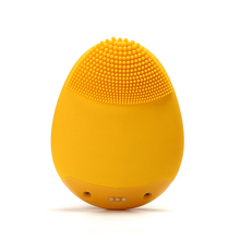 лучшая цена Mini Electric Facial Cleaning Remove Blackheads Massage Brush Washing Machine Waterproof Silicone ABS Face Skin Care Cleanser