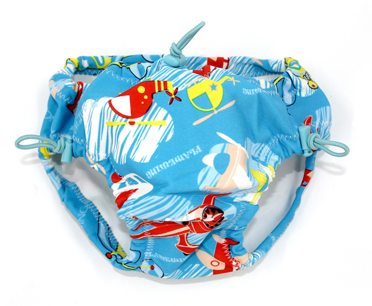 Washable Infant Swimming Pool Swimming Trunks Infants Waterproof Leak-Proof Urine KID'S Swimwear Men's Chinlon Baby-Unisex