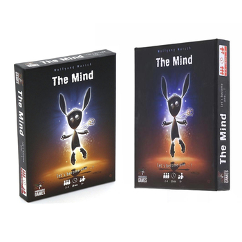 New Hot sale The mind card game Family party board game Toys For Children Adult interaction experience team The mind the voting game find out who your friends are party game for adult