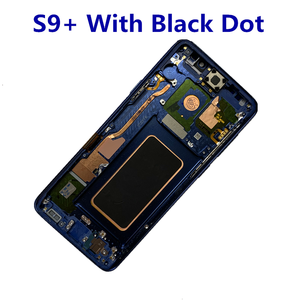 Image 5 - Orijinal AMOLED çerçeve Samsung Galaxy S9 artı G965A G965U G965F G965V ile LCD ekran dokunmatik ekran nokta meclisi
