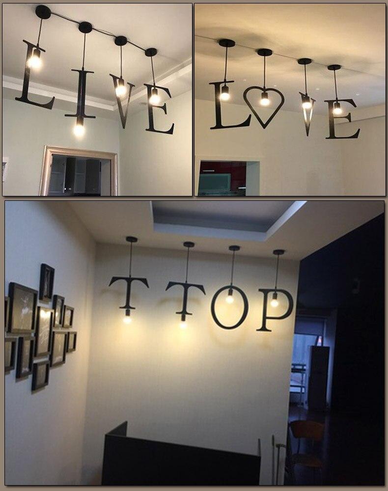 Carta lustre moderno casa criativo iluminação de