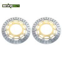 BIKINGBOY Front Brake Discs Rotors Disks YZF R7 99 00 01 FJR 1300 04 13 FJR1300 ABS 03 17 07 08 FJR 1300 AE AS MT 01 1670 05 06