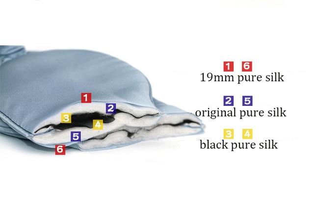 1pc 19mm Pure Silk Eye Cover Eyeshade Blinder Travel Sleep  SI0048