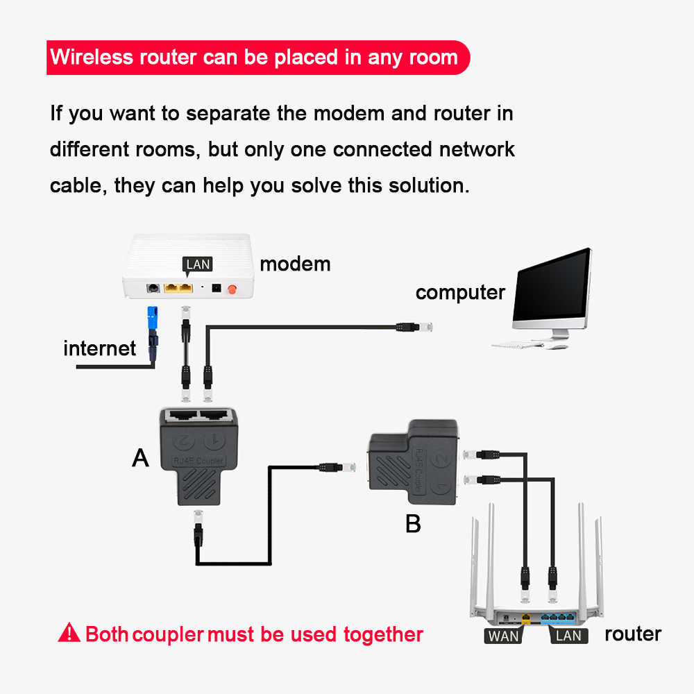 Xintylink rj45 נקבה מצמד lan cat6 cat5e cat5 מסוכך rj rg 45 ספליטר stp כבל ethernet rg45 רשת מחבר מתאם