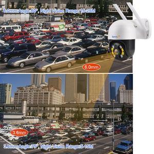 Image 4 - Zjuxin IP מצלמה WiFi 2MP 1080P אלחוטי PTZ מהירות כיפת CCTV IR Onvif מצלמה חיצוני אבטחת מעקב ipCam Camara חיצוני