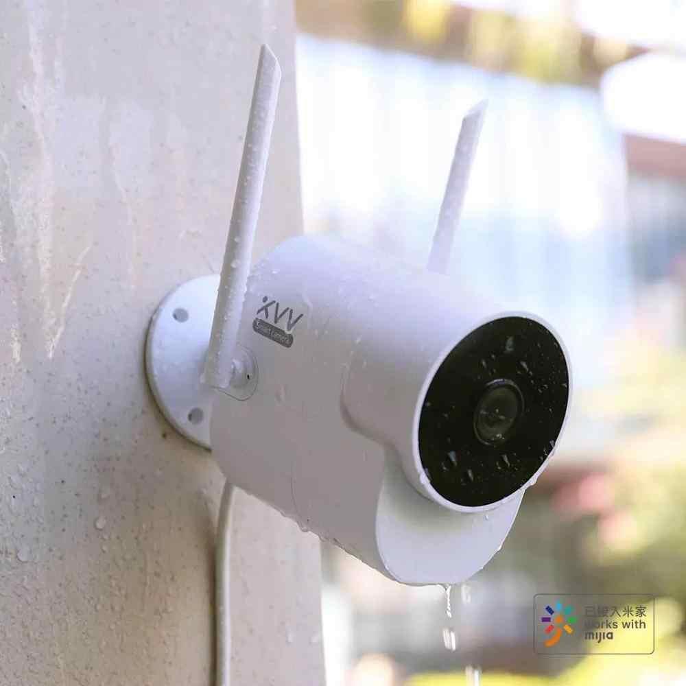 Mới Nhất Xiaovv Ngoài Trời 150 ° Góc Rộng Camera Giám Sát Camera Wifi Không  Dây Cao Cấp Quan Sát Ban Đêm Làm Việc Với Mihome ứng Dụng|