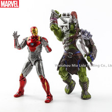 Hasbro MARVEL Avengers Thor3 Gladiator Hulk Iron Man MK47 Doll Model toys