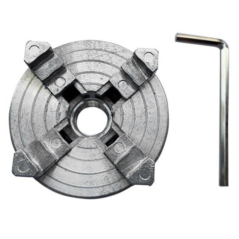 Vier 4 Backenfutter Z011A Für Metall Mini Drehmaschine M12X1Mm Gewinde Zurück 1,8 ~ 56 Mm/12 ~ 65mm Mini Collet Drehmaschine Zubehör