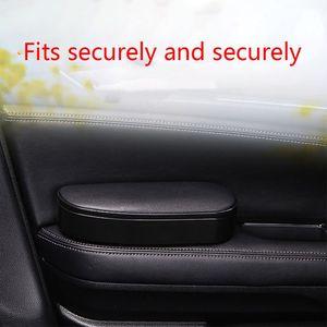 Image 5 - 3 في 1 مكافحة زلة حصيرة صندوق تخزين قابل للتعديل سيارة دعامة كوع اليد اليسرى مسند الذراع