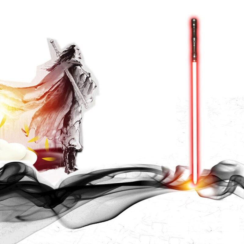 100 см Звездные войны косплей световой меч джедай рыцарь СИТТ люки сила световой меч рыцарь против дуэли металлический светящийся меч светит...