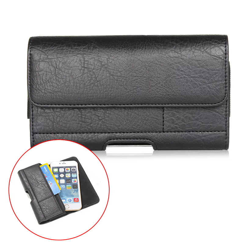 Outdoor Stone Pattern Belt Pouch PU Leather Phone Cases For oneplus 3 one vivo x7 leeco le 2 Cover With Card slots 4.7-6.3 inch(China)