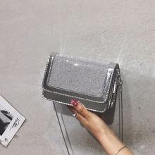 Fashion Small  Glitter Crossbody Bags Women 2019 Mini Shoulder Bag Womens Handbags Luxury Famous Brand High Quality