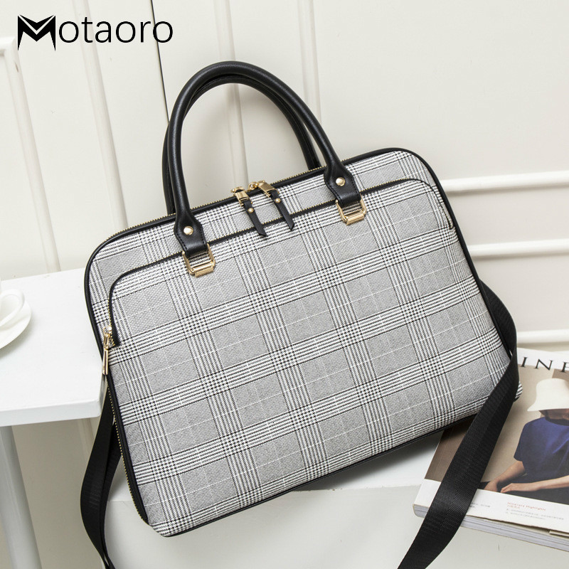 2020 Women Briefcase Bag Woman Laptops Handbag Work Office Bag Lady Crossbody Bags For Womens Business Handbags Computer 14 Inch