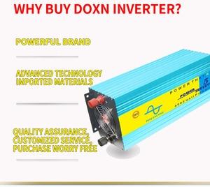 Image 1 - 5000W Nguyên Chất Sóng Sin Inverter DC12V/24V/36V/48V Để AC110V/AC220V 50Hz/60Hz Tăng Công Suất 10000W