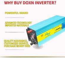 5000W czysta fala sinusoidalna falownik DC12V/24V/36V/48V do AC110V/AC220V 50HZ/60HZ moc udarowa 10000W