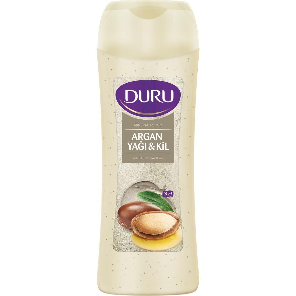Duru Mineral Action Argan Oil & Clay Shower Gel 450ml