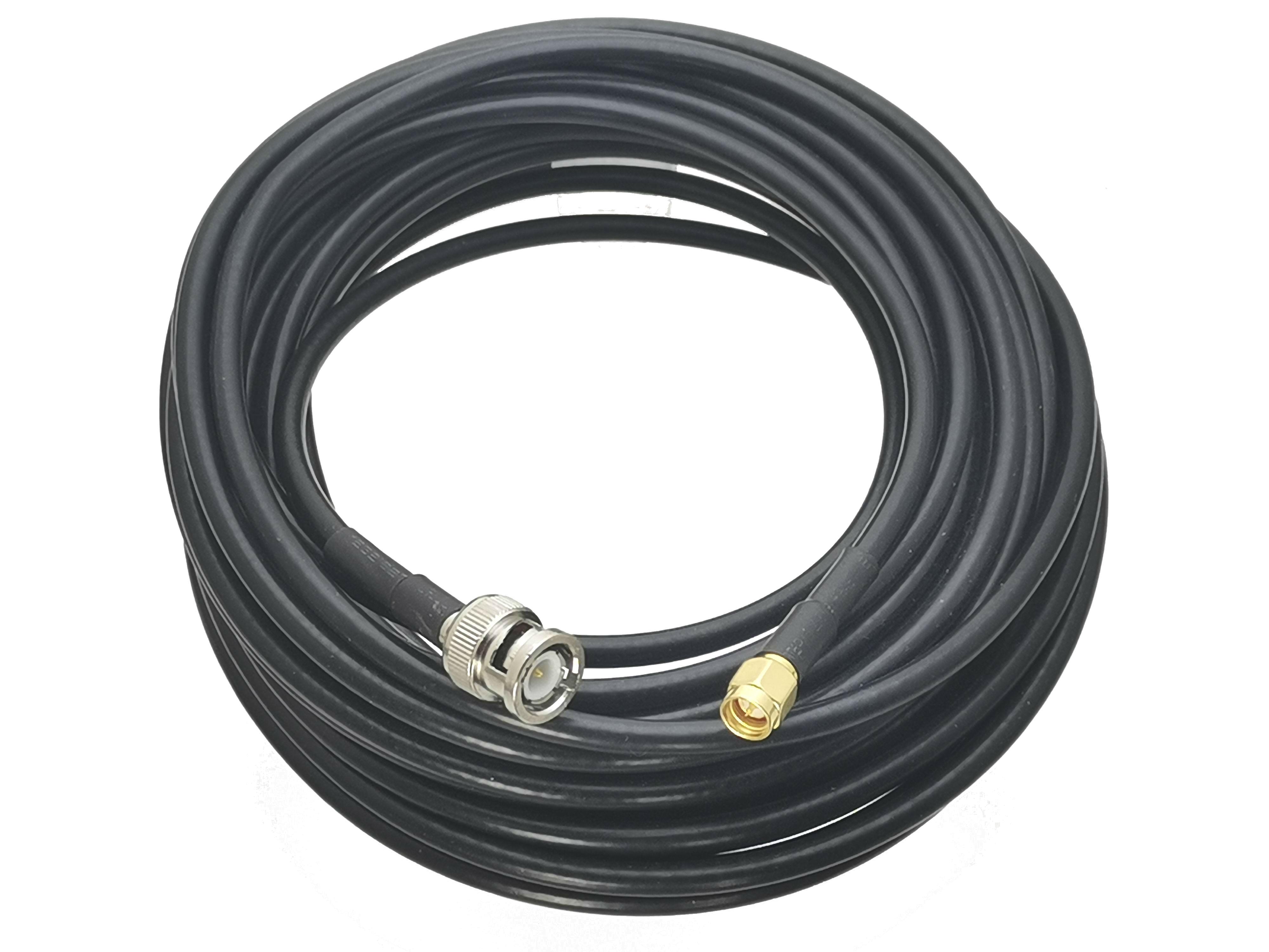 RG58 кабель BNC штекер SMA штекер, Разъем RF коаксиальный джемпер pigtail прямой 6 дюймов ~ 20 м