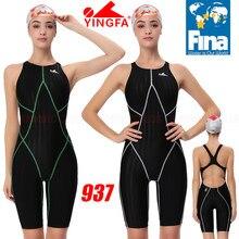 [Fina aprovado] nwt yingfa 937 meninas competição treinamento de corrida profissional kneeskin maiôs todos os tamanho novo!