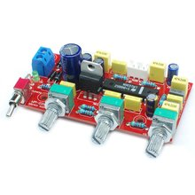 LM1036 OP-AMP HIFI Amplifier Preamplifier Volume Tone EQ Control Board DIY KIT and finished product