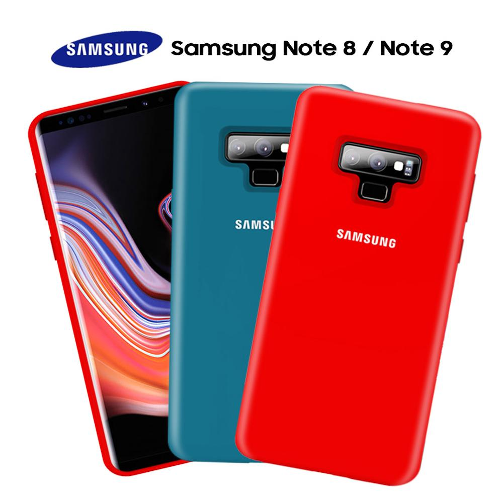 Samsung Note 9 Case Official Original Silky Liquid Soft Silicone Fitted Full Cover Samsung Galaxy Note 8 9 Case Retail Package