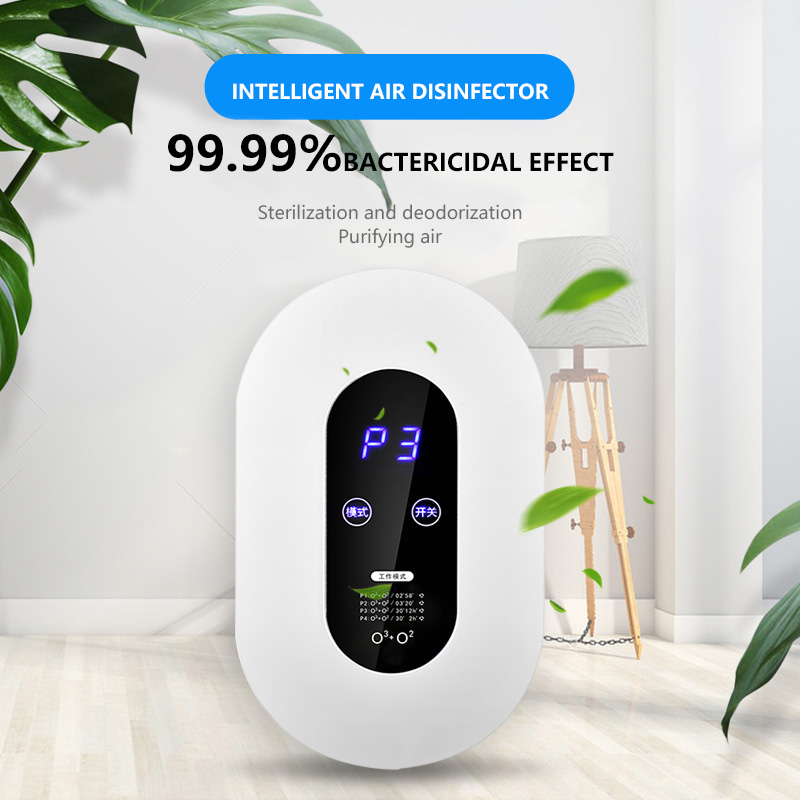 Smart Formaldehyde Deaerator Air Purifier Household Ozone Machine Kitchen Toilet Toilet Deodorant Deodorizer Deformaldehyde