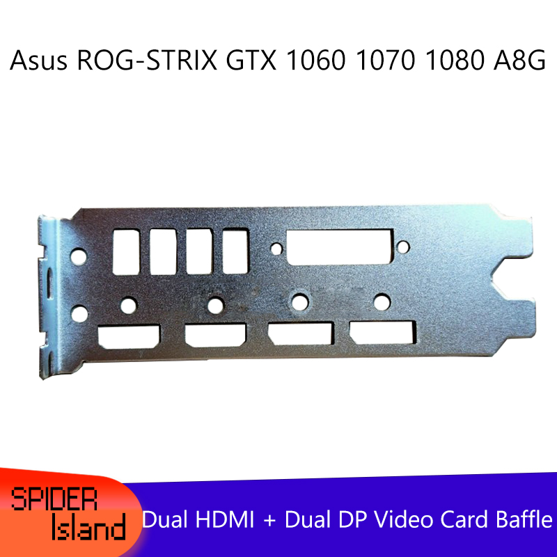 Baffle for Asus ROG-STRIX GTX 1060 1070 1080 A8G Raptor Graphics Bezel Video Card Baffle image