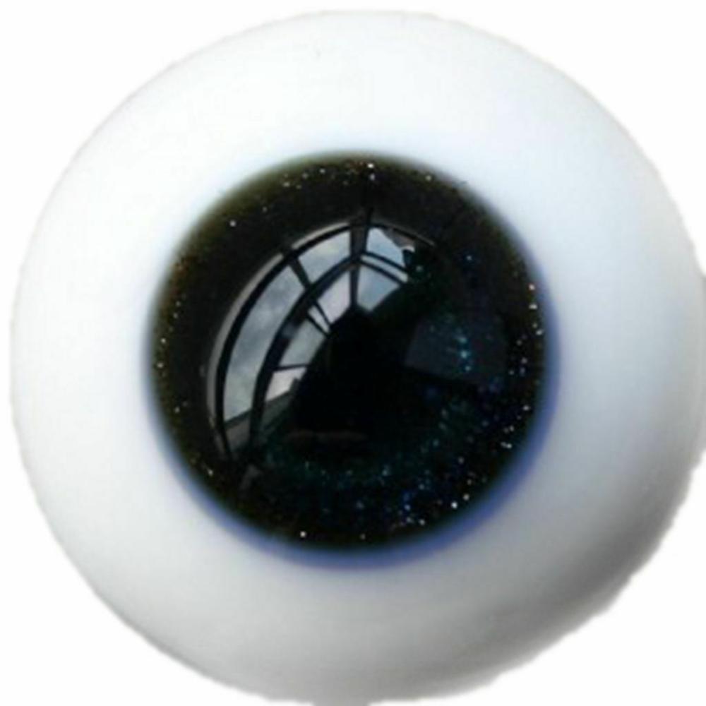 [wamami] 6mm 8mm 10mm 12mm 14mm 16mm 18mm 20mm 22mm 24mm Black Glass Eyes Eyeball BJD Doll Dollfie Reborn Making Crafts