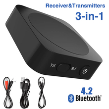 Bluetooth Receiver 5.0 Wireless Auido Music 3.5 mm Jack RCA APTX LL Low Latency Home TV Music Streaming Sound 3.5mm Adapter