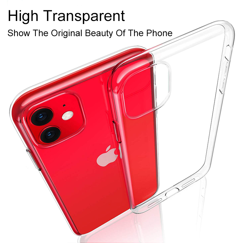 Transparent Ultra Thin Phone Shell  For iphone 11 For New iphone 11 2019 8