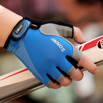 Nowe antypoślizgowe rękawice Ridding rękawice gimnastyczne ciężkie sportowe rękawice podnoszące kulturystyki rękawice treningowe na rękawice sportowe do ćwiczeń tanie i dobre opinie Podnoszenie ciężarów rękawice ZQ-233 Sports gloves Training gloves Fitness gloves Ridding gloves Neutral male and female