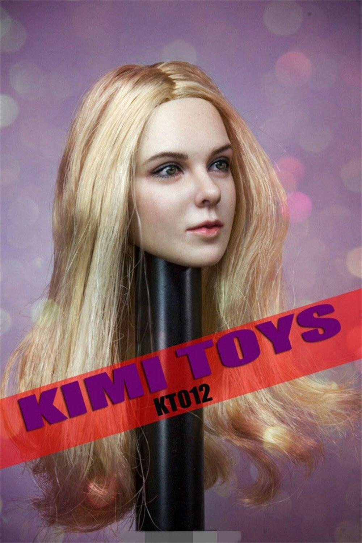 kimi brinquedos 1 6 figura femea cabeca 03