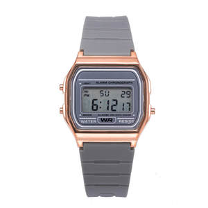 Men Watches Electronic-Watch Women with Student Rectangle Adjustment Reloj Deportivo