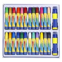 цена на MyLifeUNIT Oil Pastel for Artist Student Graffiti Painting Drawing Pen School Stationery Art Supplies Non-toxic Crayon 24 Colors