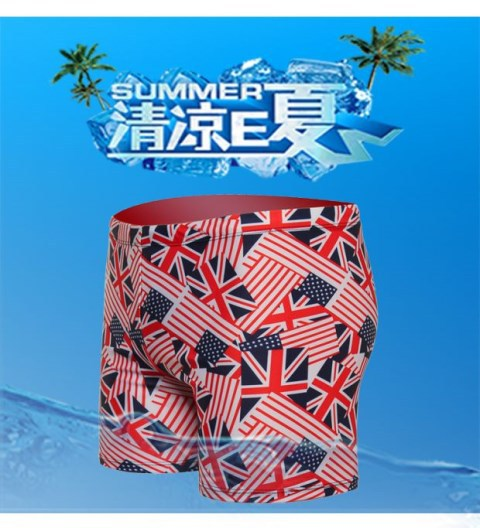 New Style Fashion Man Fashion Comfortable Large Size Boxer Swimming Trunks MEN'S Swimming Trunks Loose-Fit Quick-Dry Sports Fitn